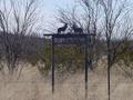 #6: Ranch entrance marker on Gomez Road