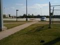 #2: Southern view to parking lot