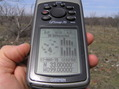 #7: GPS receiver at the confluence point.