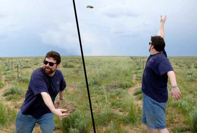 The West Texas Olympics (discus throw)