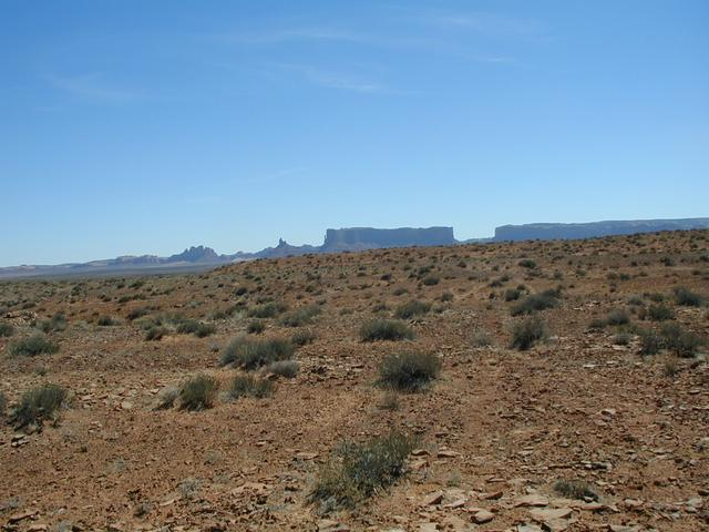 "#1: Confluence ""monument"" with Monument Valley in background (West)"