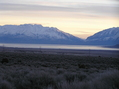 #2: View to the northeast from the confluence, showing Utah Lake.