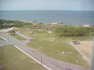 #1: View toward the confluence from the Old Fort Story Lighthouse.