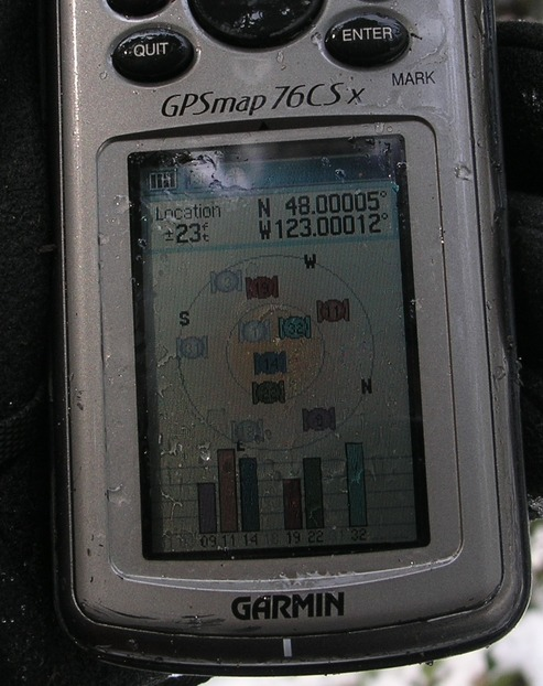 GPS near the point