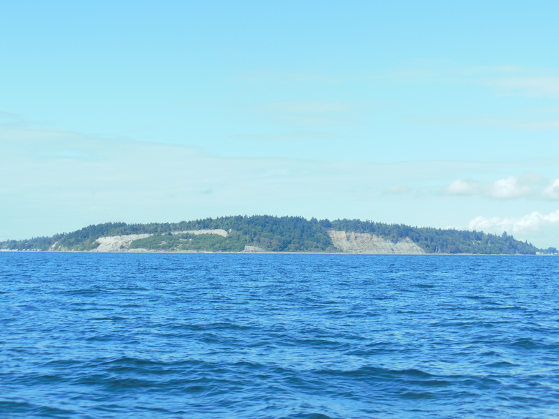 South of Point Roberts, approaching the confluence