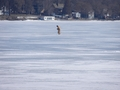 #9: Drilling a new hole on frozen Lake Ripley