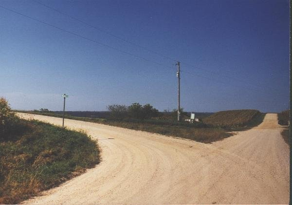 Crossroads before the confluence
