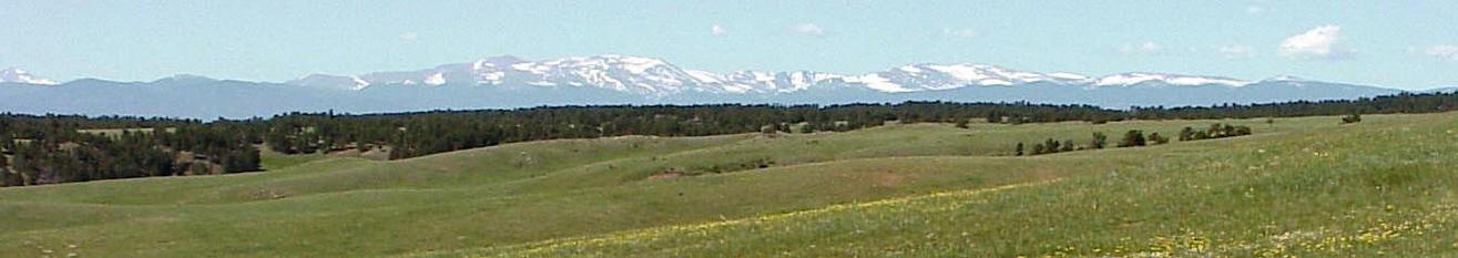 A nice view of the Colorado Rocky Mountains.