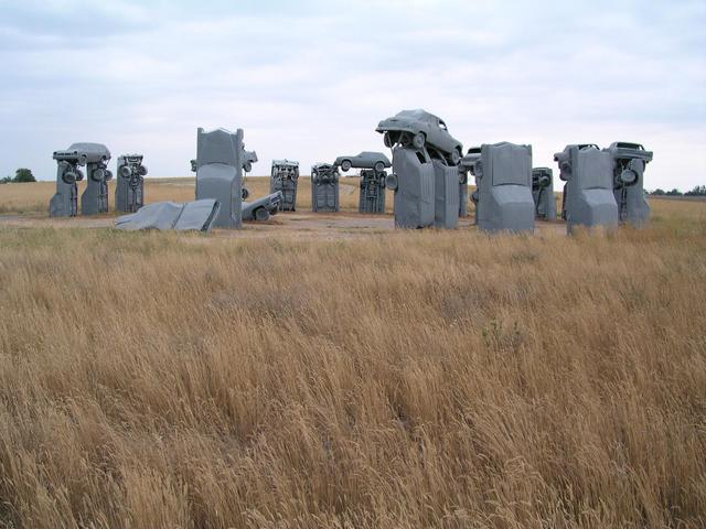 Post-confluence sightseeing:  Carhenge
