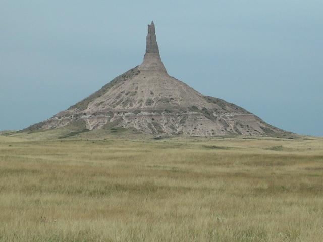 Post-confluence sightseeing:  Chimney Rock