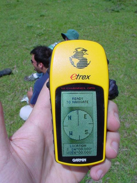 Photo of our trusty GPS
