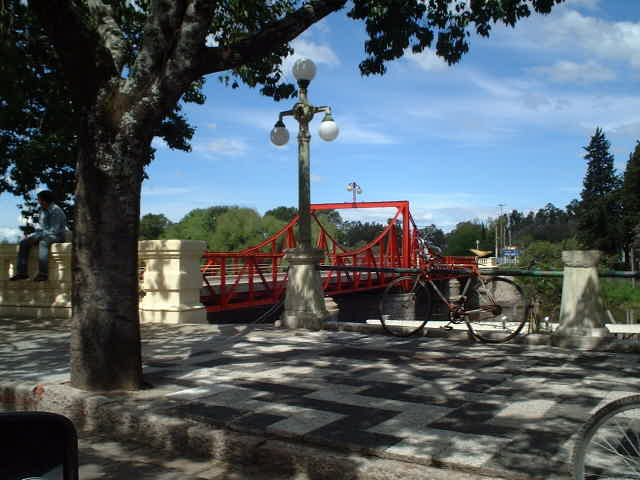 Bridge over the Arroyo Juan González Grande