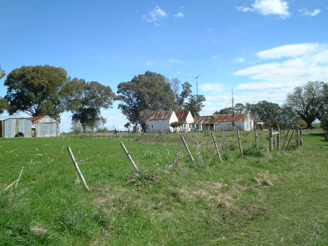 A hacienda (farm) near the confluence