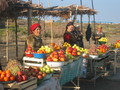 #10: Women selling Fruits on the Roadside