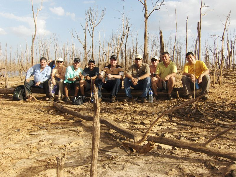 THE HUNTING TEAM MARABUNTA ALFREDO, RAINER, JOSE, JUAN, LUIS, RICARDO, MANUEL, HECTOR AND ERIC