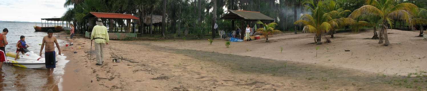 A CAMP AT CARUACHI