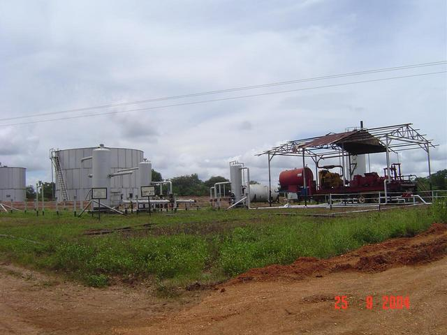 A SMALL OIL & GAS GATHERING STATION