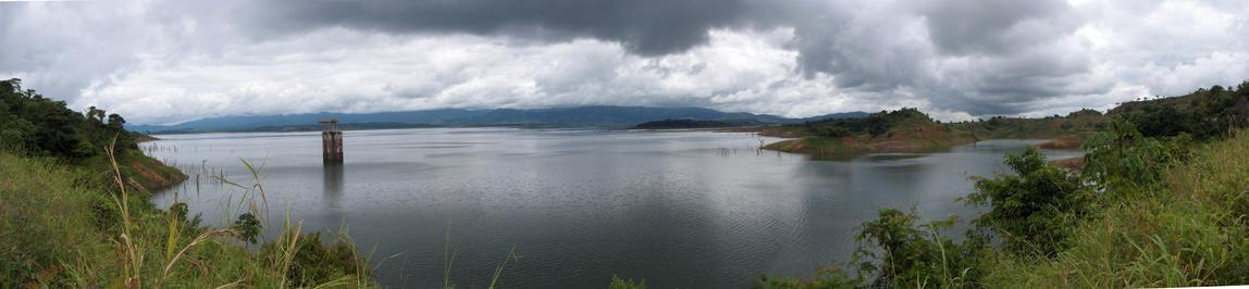 GENERAL VIEW OF LA COROMOTO DAM WHERE CP IT IS LOCATED