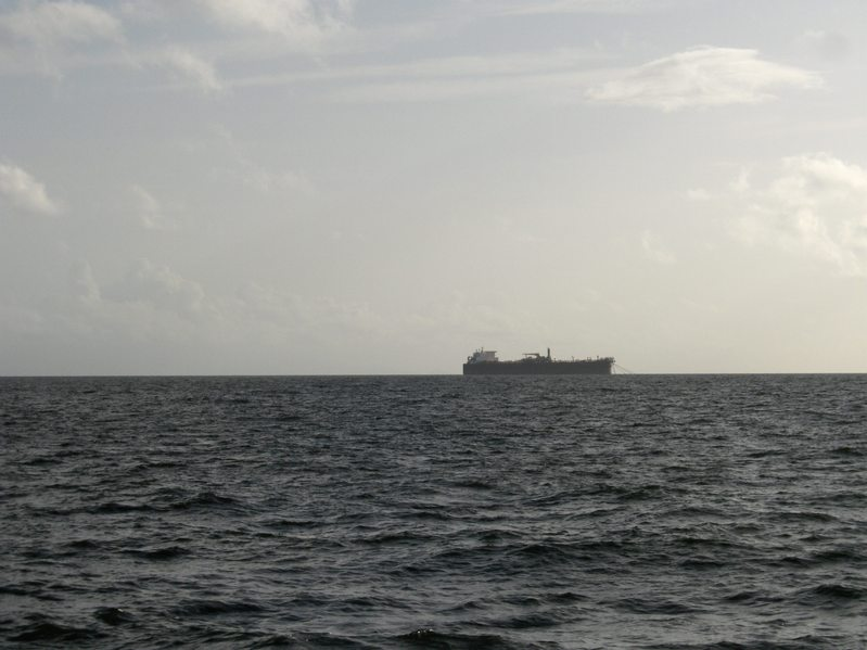 VESSEL USE AS OIL STORAGE IN GUFT OF PARIA VENEZUELA