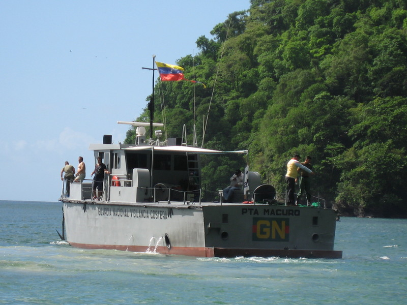 PATROL BOAT AT UQUIRE BAY