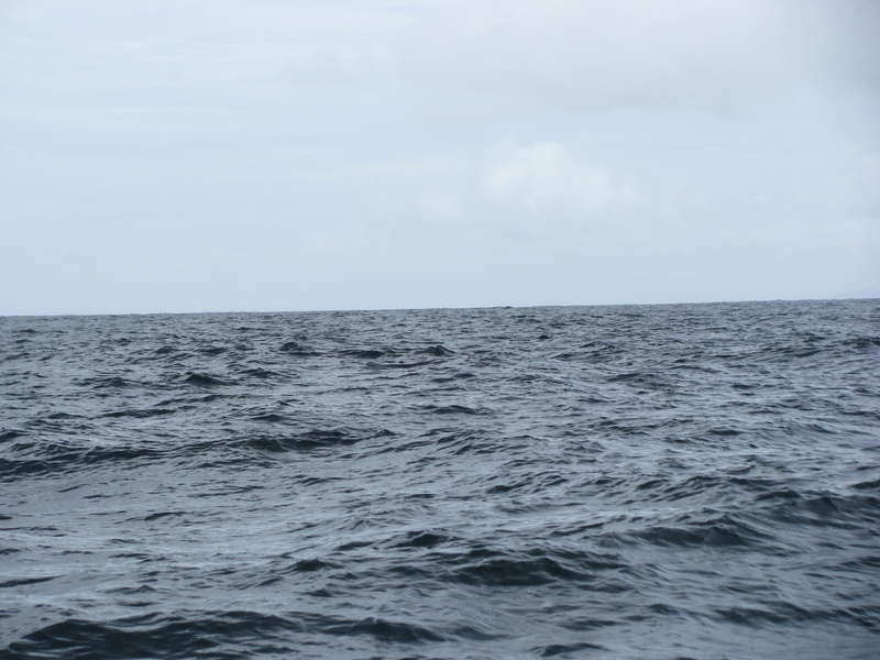 NORTH VIEW LOS TESTIGOS ISLAND (SLIGHTLY)