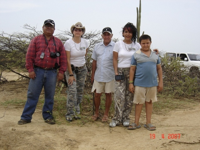 THE TEAM: HECTOR, ME,VICENTE,EVA AND RAFAEL