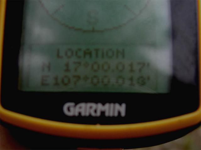 View of GPS data
