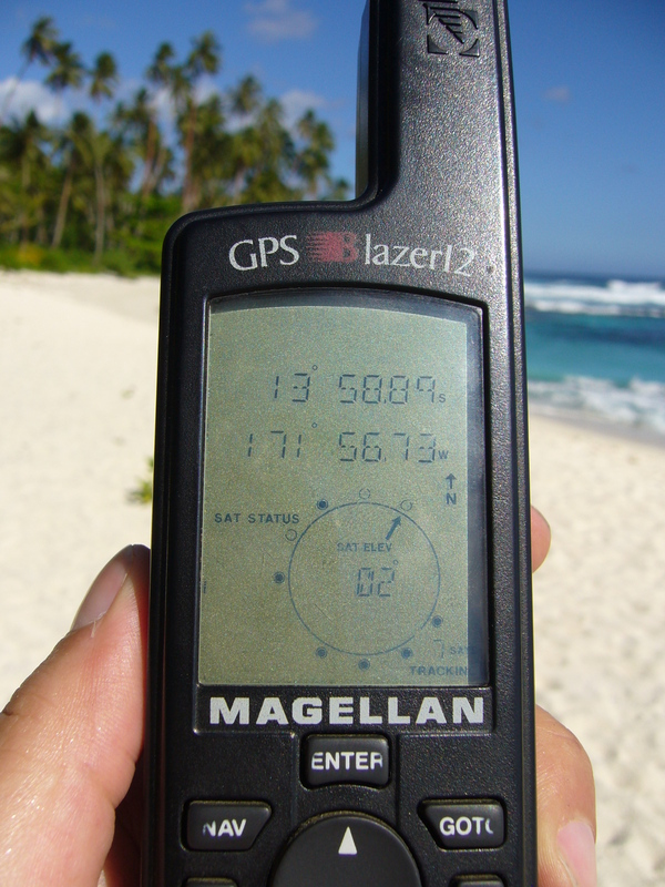 GPS: 6.22 kilometres are missing