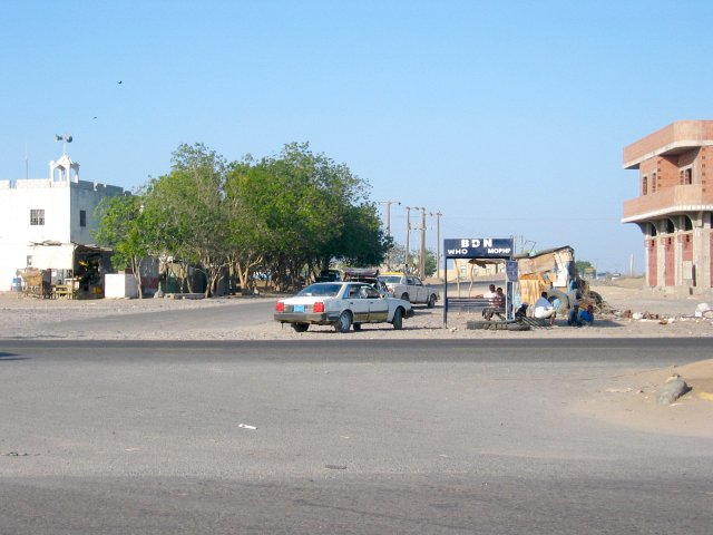 Intersection at the main road