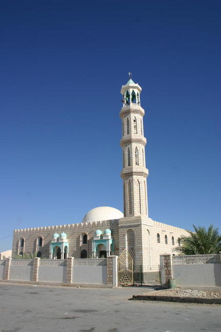 Mosque in Thamūd