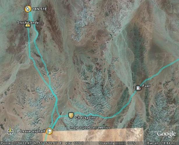 Google Earth (c) map