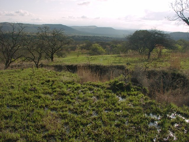 General view of confluence area