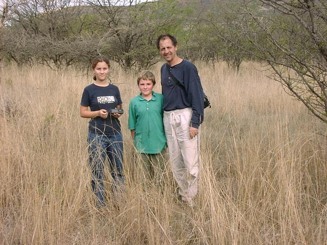 Jana, Fraser and I at the Confluence