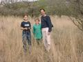 #7: Jana, Fraser and I at the Confluence