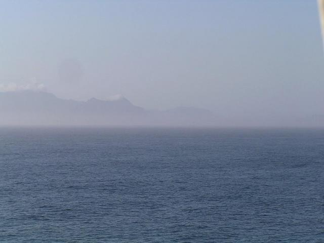 Looking towards the Cape of Good Hope from the Confluence