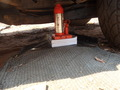 #3: Special construction to place the car jack