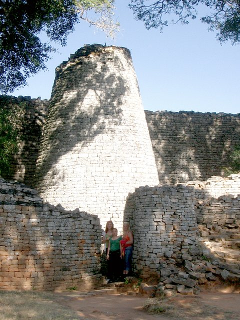 Photograph from Great Zimbabwe Ruins